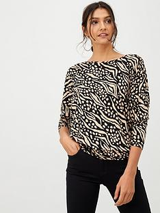 wallis-sweet-pea-batwing-top-neutralprint