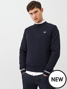 fred-perry-fred-perry-crew-neck-sweatshirt