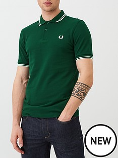 fred-perry-twin-tipped-polo-shirt-green