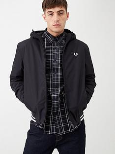 fred-perry-padded-hooded-sports-jacket-black