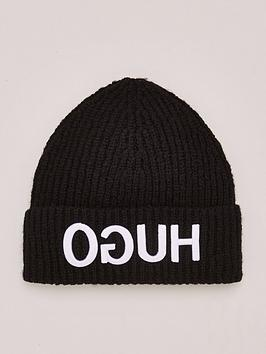 HUGO Hugo Beanie Hat - Black Picture