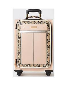 river-island-snake-suitcase