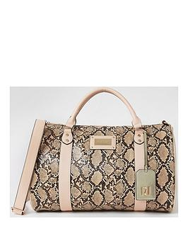 River Island River Island Snake Duffle Bag Picture