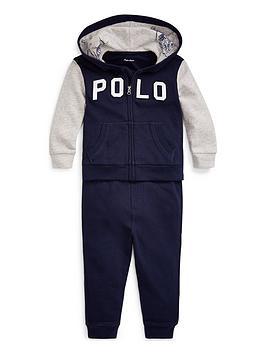 Ralph Lauren Ralph Lauren Baby Boys Polo Tracksuit - Navy Picture