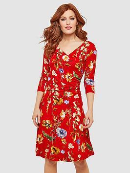 joe-browns-moonlit-petal-wrap-dress