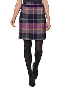 Joe Browns Joe Browns Spirited Check Skirt - Multi Picture