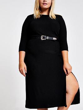 ri-plus-midi-dress-black