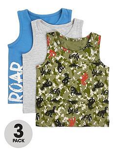 river-island-mini-mini-boys-3-pack-camo-vest-multi