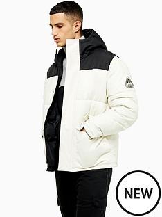 topman-colour-block-sugarloaf-paddednbspjacket-white