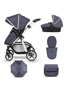 Silver Cross Silver Cross Pioneer Pushchair &Amp; Accessory Bundle -  ... Picture