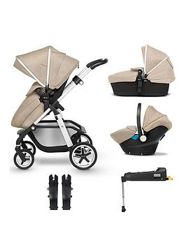 Silver Cross Silver Cross Pioneer 5 Piece Travel System Bundle -  ... Picture