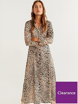 mango-animal-print-midi-shirt-dress-light-brown