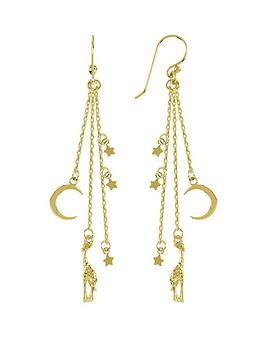 Sara Miller Sara Miller Sara Miller 18Ct Gold Plated Giraffes In The Night  ... Picture