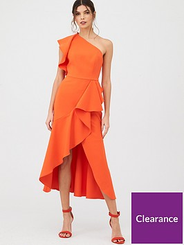 v-by-very-ruffle-front-structurednbspdress
