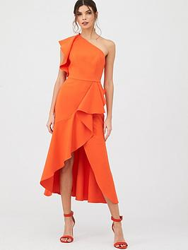 V by Very V By Very Ruffle Front Structured Dress Picture