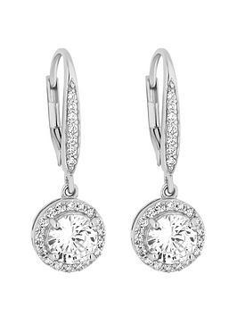 Simply Silver Simply Silver Simply Silver Cubic Zirconia Clara Earring Picture