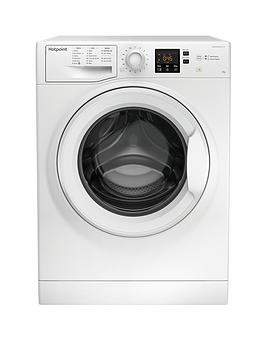 Hotpoint Hotpoint Nswm843Cw 8Kg Load, 1400 Spin Washing Machine - White Picture