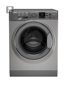 hotpoint-nswm943cgg-9kg-load-1400-spin-washing-machine-graphite