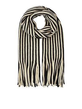 accessorize-humbug-stripe-brushed-scarf