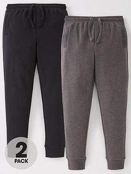 V by Very V By Very Boys Essential 2 Pack Skinny Joggers Picture