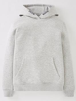 V by Very V By Very Boys Essential Overhead Hoodie - Grey Marl Picture