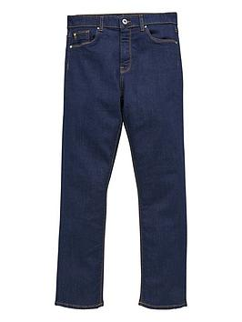 V by Very V By Very Boys Raw Denim Straight Fit Jeans - Blue Picture