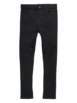V by Very V By Very Boys Super Skinny Stretch Jeans - Black Picture