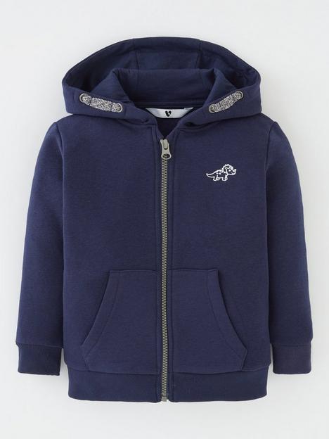 mini-v-by-very-boys-essentials-zip-through-hoodie-navy