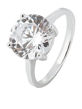 Accessorize   3 Round Cut Solitaire Ring