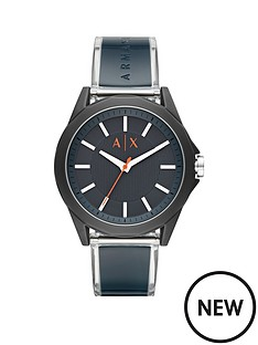 armani-exchange-armani-exchange-blue-and-orange-detail-dial-blue-silicone-and-stainless-steel-strap-mens-watch