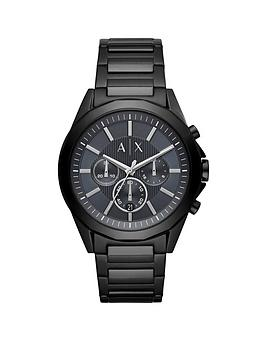 Armani Exchange Armani Exchange Armani Exchange Black And Silver Detail  ... Picture