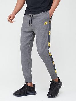 Nike Nike Hybrid Nylon Taped Pants - Grey Picture