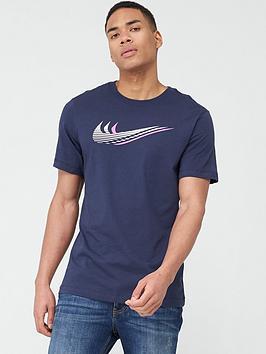 Nike Nike Swoosh T-Shirt - Navy Picture