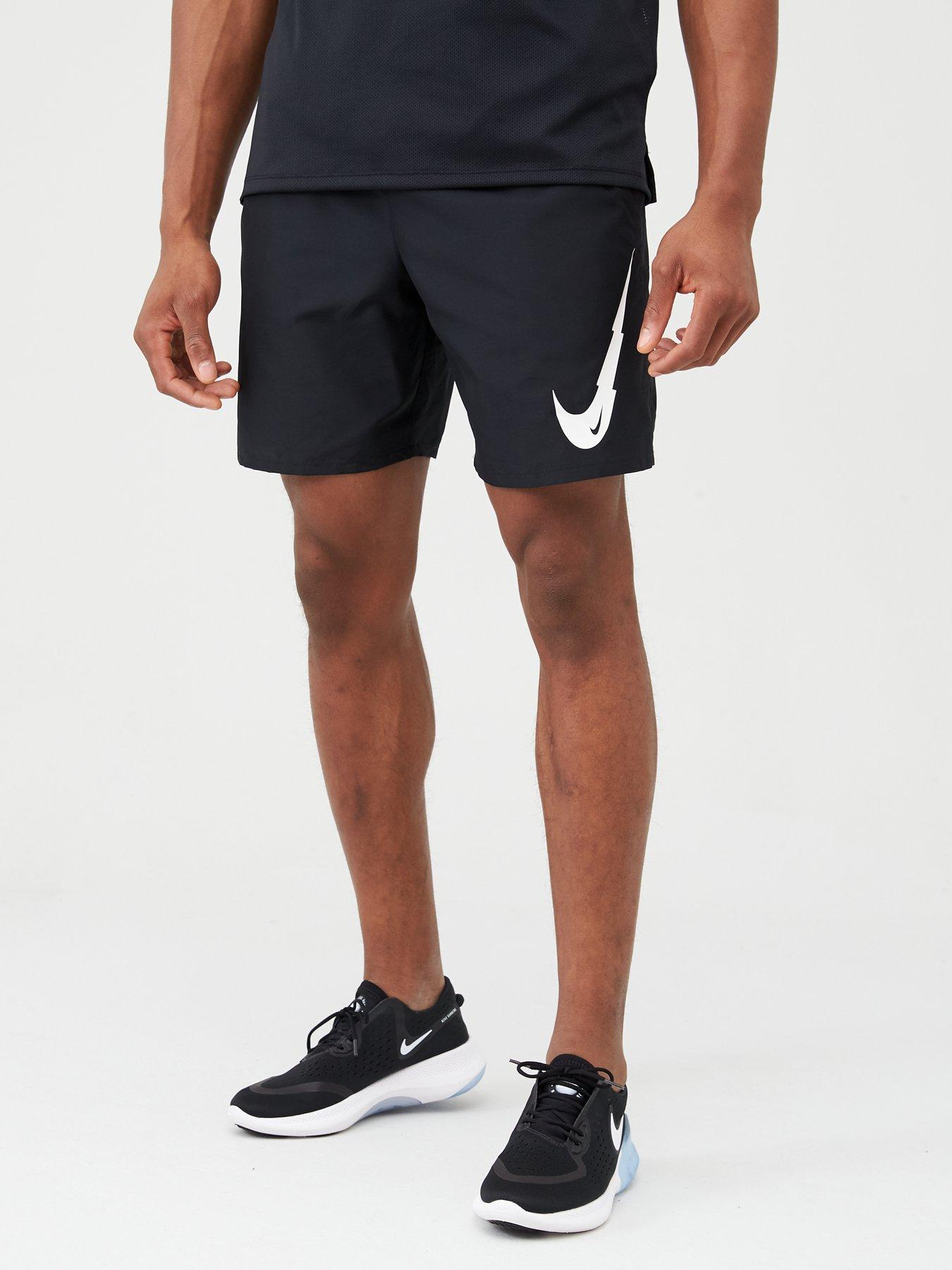 Nike Breathe Run Graphic Swoosh Shorts
