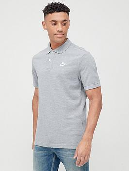Nike Nike Matchup Pique Polo - Grey/White Picture
