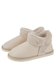 accessorize-suedette-boot-slipper