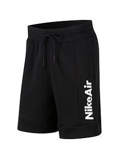 nike-air-fleece-shorts-black