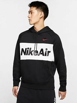Nike Nike Air Overhead Fleece Hoodie - Black Picture