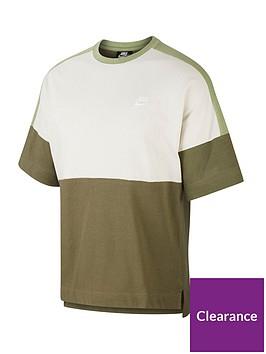 nike-short-sleeve-jersey-top-olivenbsp
