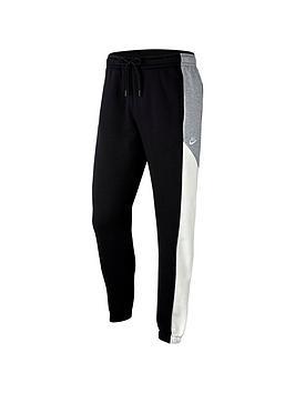 Nike Nike Colourblock Fleece Pants - Black Picture