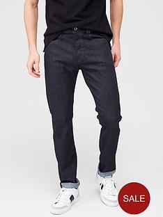 diesel-buster-tapered-fit-jeans-black