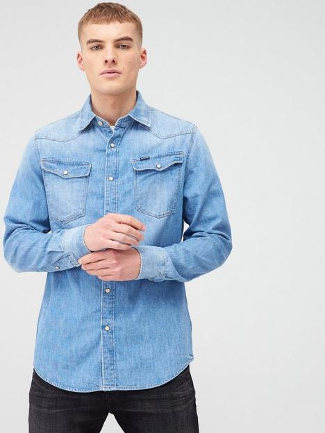 g-star-raw-3301-straight-fit-denim-shirt-medium-aged-blue