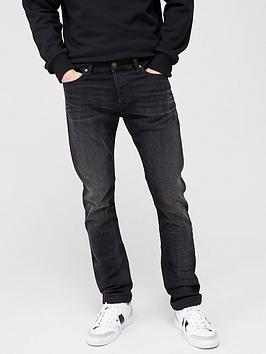 Diesel Diesel Tepphar Slim Fit Jeans - Washed Black Picture