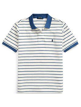 Ralph Lauren Ralph Lauren Boys Short Sleeve Stripe Polo Picture