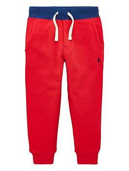 Ralph Lauren Ralph Lauren Boys Classic Cuffed Joggers - Red Picture