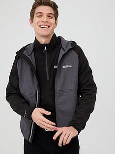 regatta-arec-hooded-softshell-jacket