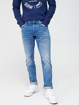G-Star Raw G-Star Raw 3301 Azure Stretch Tapered Fit Jeans - Azure Blue Picture