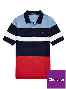ralph-lauren-boys-short-sleeve-colour-block-polo-shirt-navy