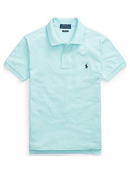 Ralph Lauren Ralph Lauren Boys Classic Short Sleeve Polo Shirt - Aqua Picture