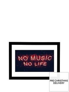 east-end-prints-no-music-no-life-a3